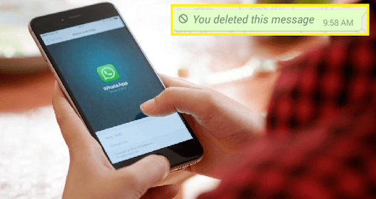 WhatsApp Messages May Be Deleted After An Hour