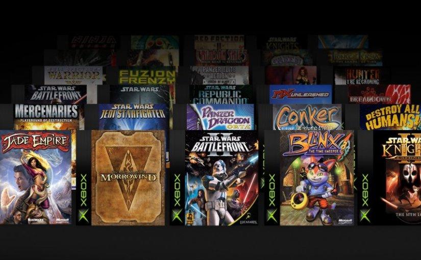 Microsoft Is Bringing Back 19 More Original Xbox Games Like Star Wars Classics