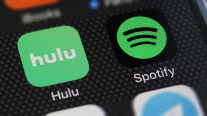 Spotify and Hulu Bundle for $12.99