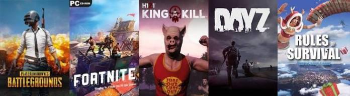 Biggest battle royale games