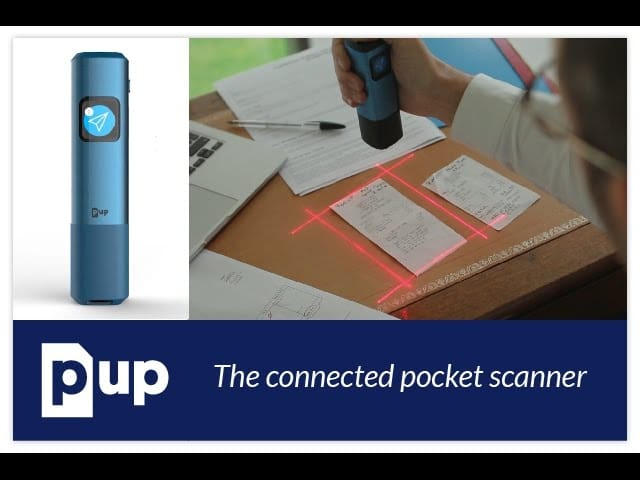 Indiegogo Backed PUP Scan: One Click Smart Scanning, Storing and Sharing