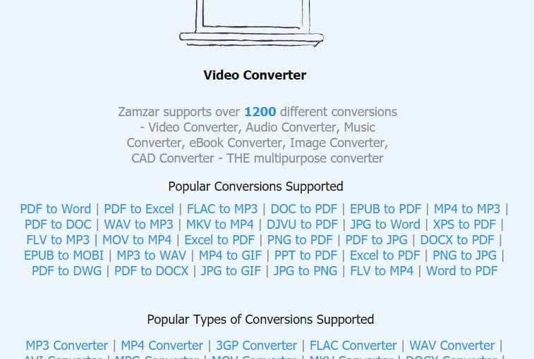 Zamzar: Veteran Free Online File Converter Still Hot After All These Years