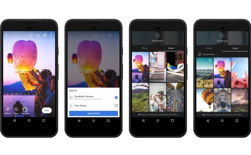 Facebook Adds Save Videos and Photos, Audio Posts Feature to Stories
