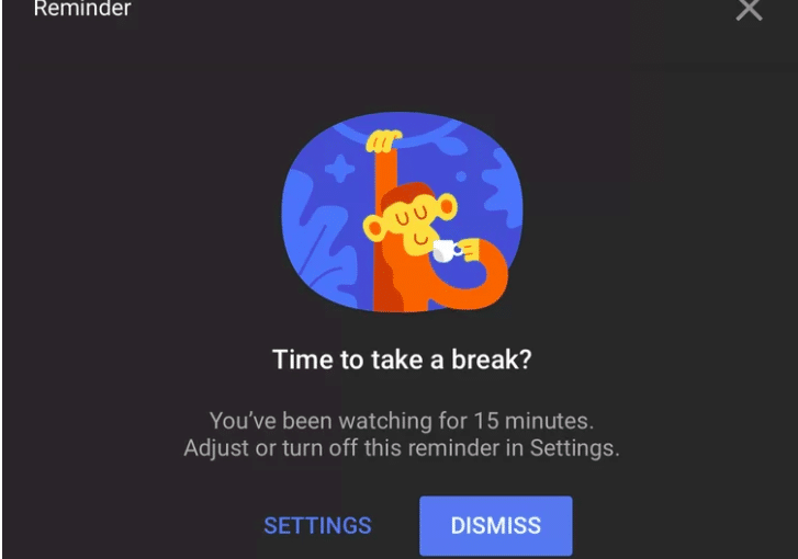 YouTube Take a Break Feature Rolls Out For iOS and Android