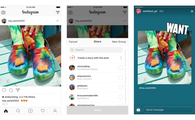 Instagram Now Lets You Share Posts Directly To Stories