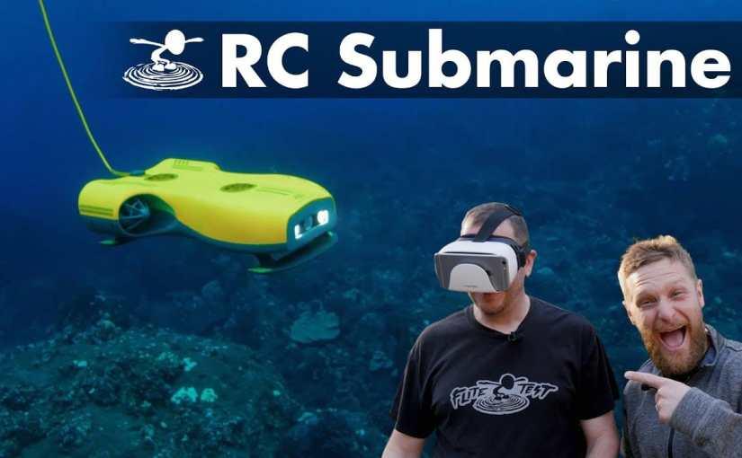Nemo: Smart Submarine Drone That Takes UHD 4K Photo-Video Underwater