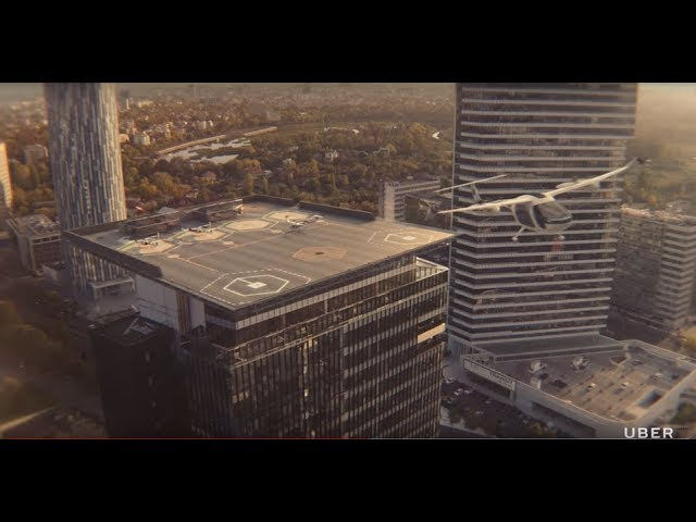 UberAir: Flying Taxi Takes Off
