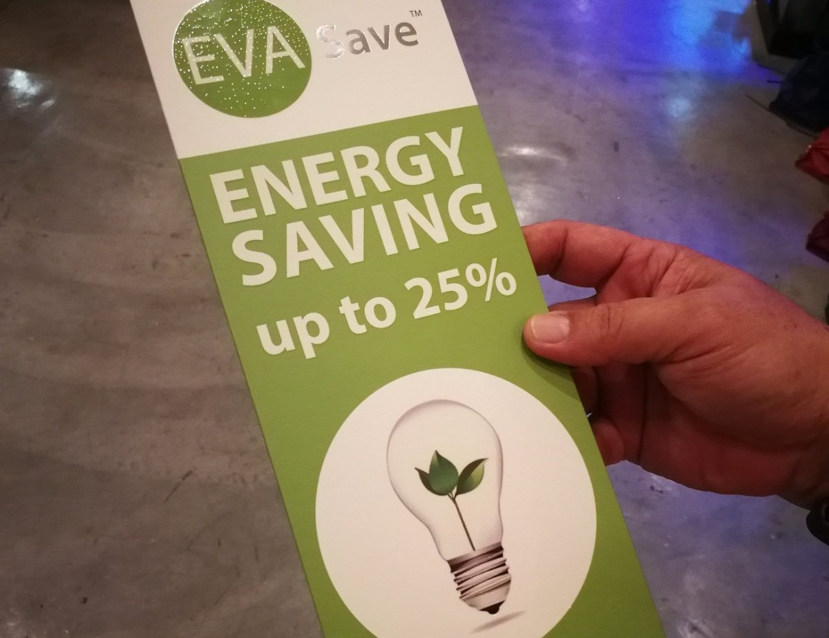 Electricity Saving Sticker From EVASave