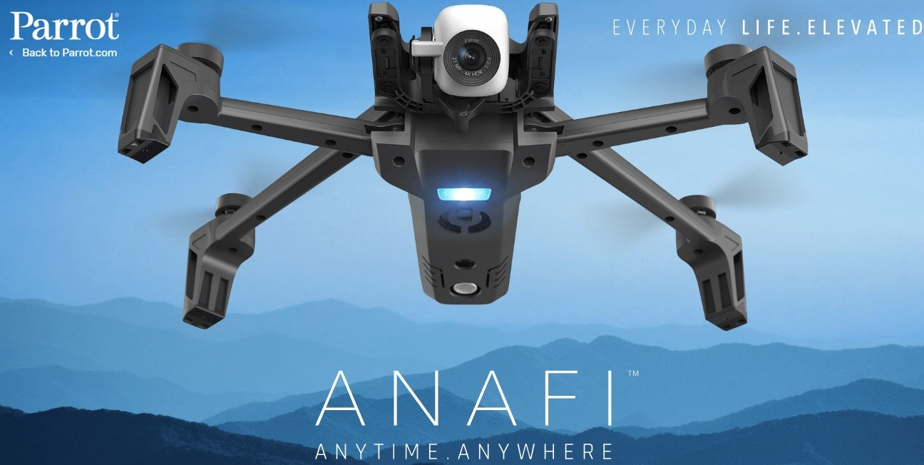 Anafi Released By Parrot