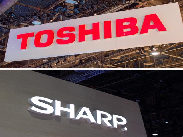 Toshiba and Sharp