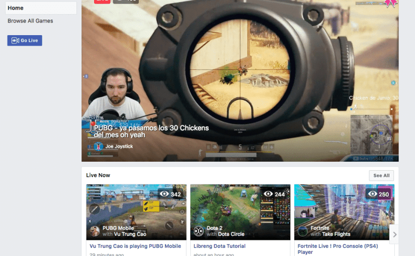 Facebook Launches Game Streaming Site fb.gg To Take On Twitch