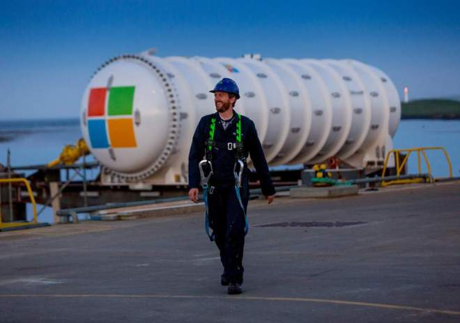 Microsoft's data centre