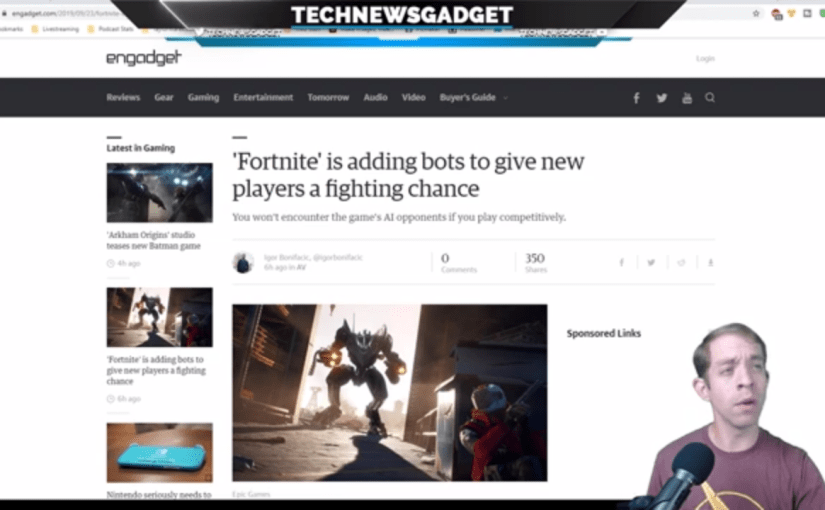 #189 Fortnite Wants To Add Bot Players