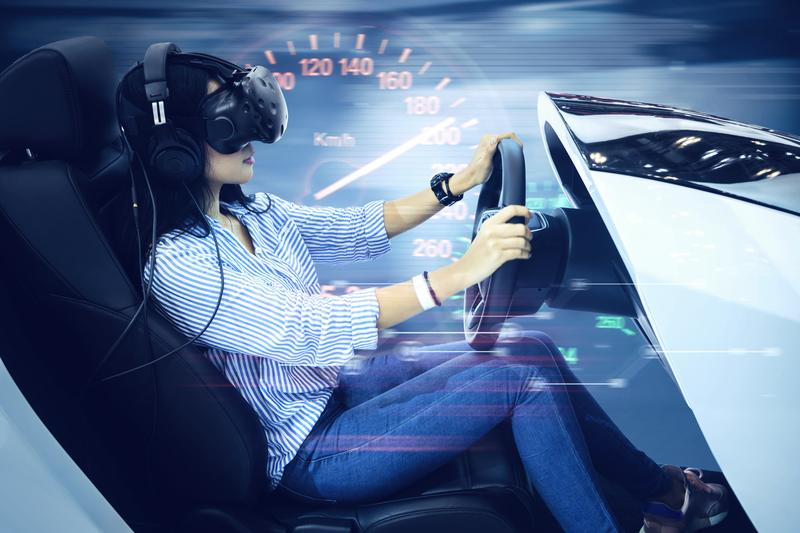 The Benefits of Learning to Drive on a Simulator