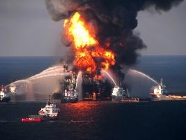 BP Deepwater Horizon Rig Fire (USCG)