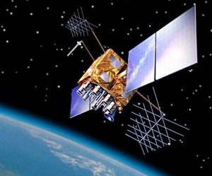 GPS satellite (GPS.gov)
