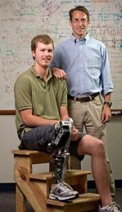 Craig Hutto, left, and Michael Goldfarb. (John Russell, Vanderbilt University)