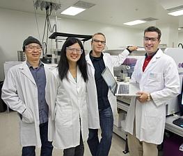 The j5 software team (Roy Kaltschmidt/Lawrence Berkeley National Lab)