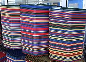 Stacks of cafeteria trays (John Lester/Flickr)