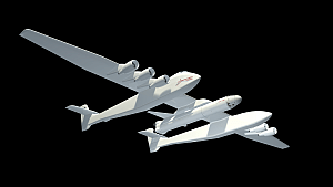 Stratolaunch carrier aircraft illustration (Stratolaunch Systems)