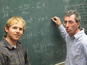 Chris Remien (left) and FredAdler (Lee J. Siegel, University of Utah)