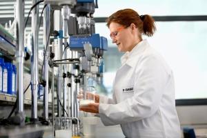 Cosmetics lab in Ludwigshafen (BASF)
