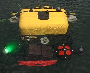 Hovering Autonomous Underwater Vehicle (Bluefin Robotics)