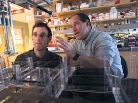 George Pins, left, and Glenn Gaudette