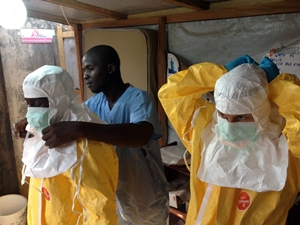 Ebola health care workers