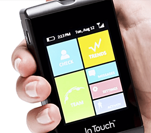 InTouch smart glucose meter