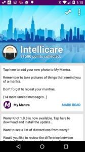 IntelliCare screen