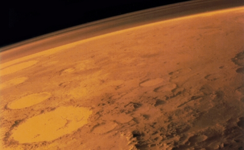 Mars surface and atmosphere