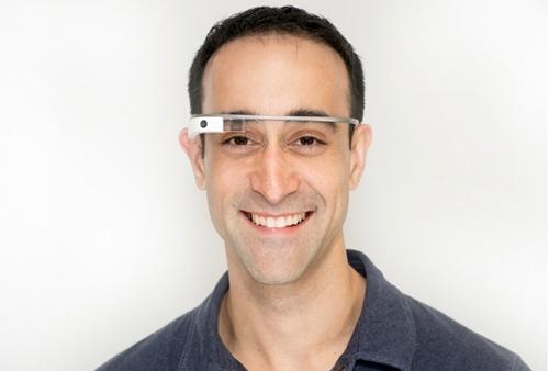 Ian Shakil with Google Glass