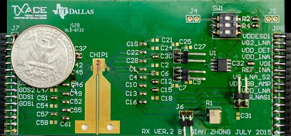Electronic nose circuit board