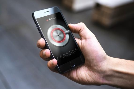 Heart monitor app