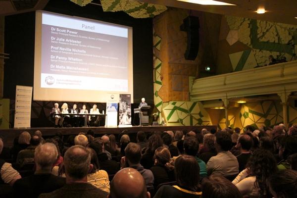 Science meeting in Australia