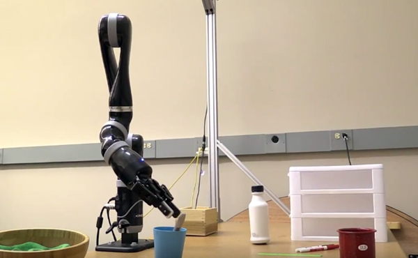 Robotic arm and gripper