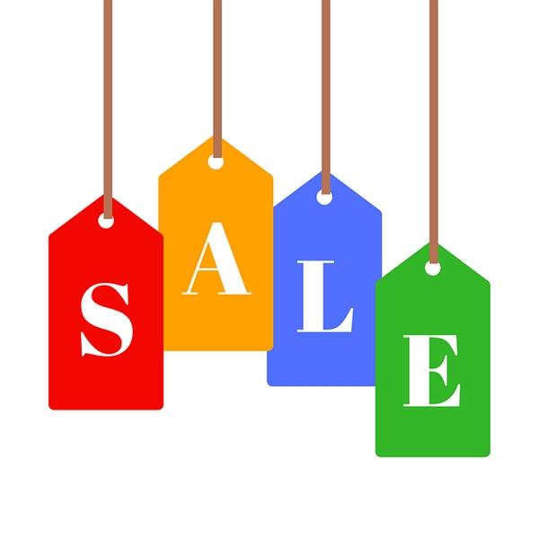 Sale pricetags