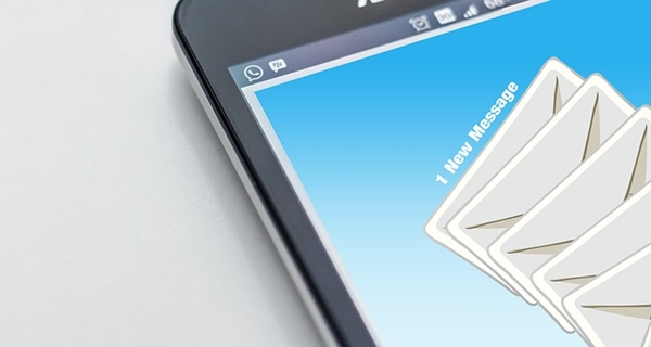 Email on phone