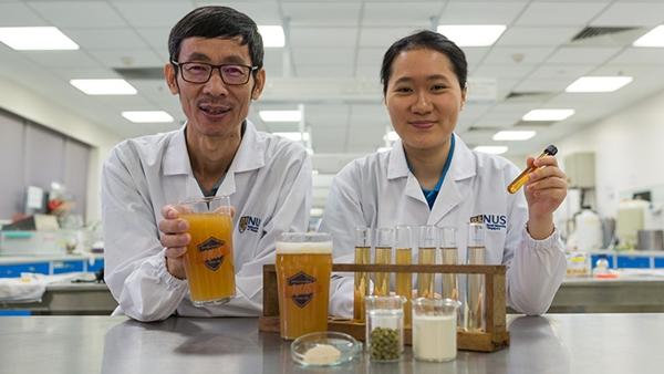 Probiotic beer researchers