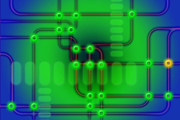Circuit graphic
