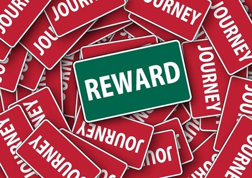 Journey-reward graphic