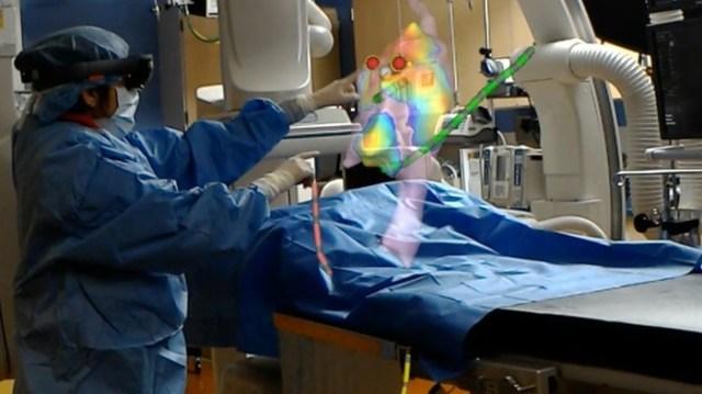Cardiac hologram