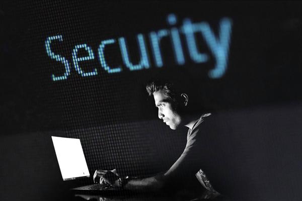 Security-hacker graphic