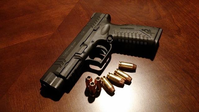 Handgun and bullets
