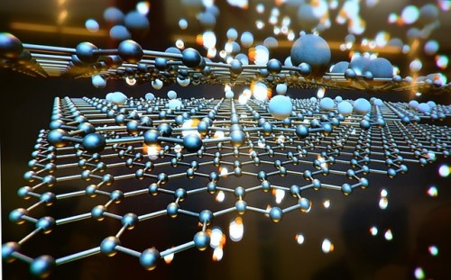 Graphene illustration