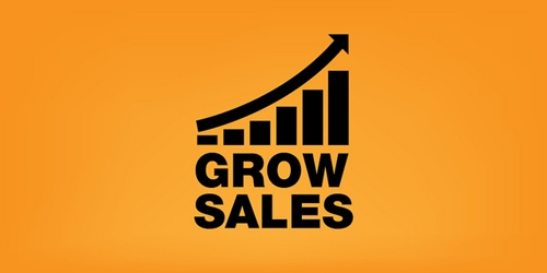 Grow sales graphic