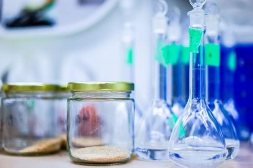 Lab jars and beakers