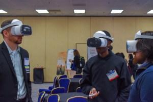 Virtual reality demo.