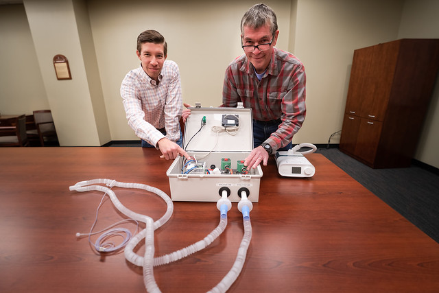 CPAP-ventilator system